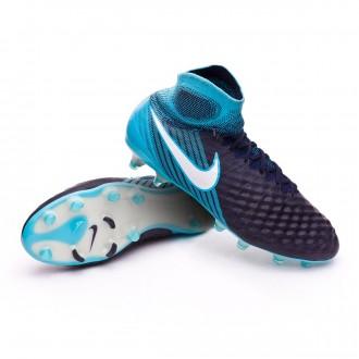 Zapatos de fútbol  Nike Magista Obra II ACC FG Glacier blue-Gamma blue-Obsidian-White