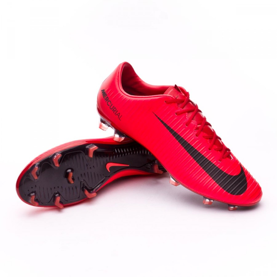 c77babaab Nike Mercurial Veloce III FG Football Boots. University red-Bright crimson- Black ...