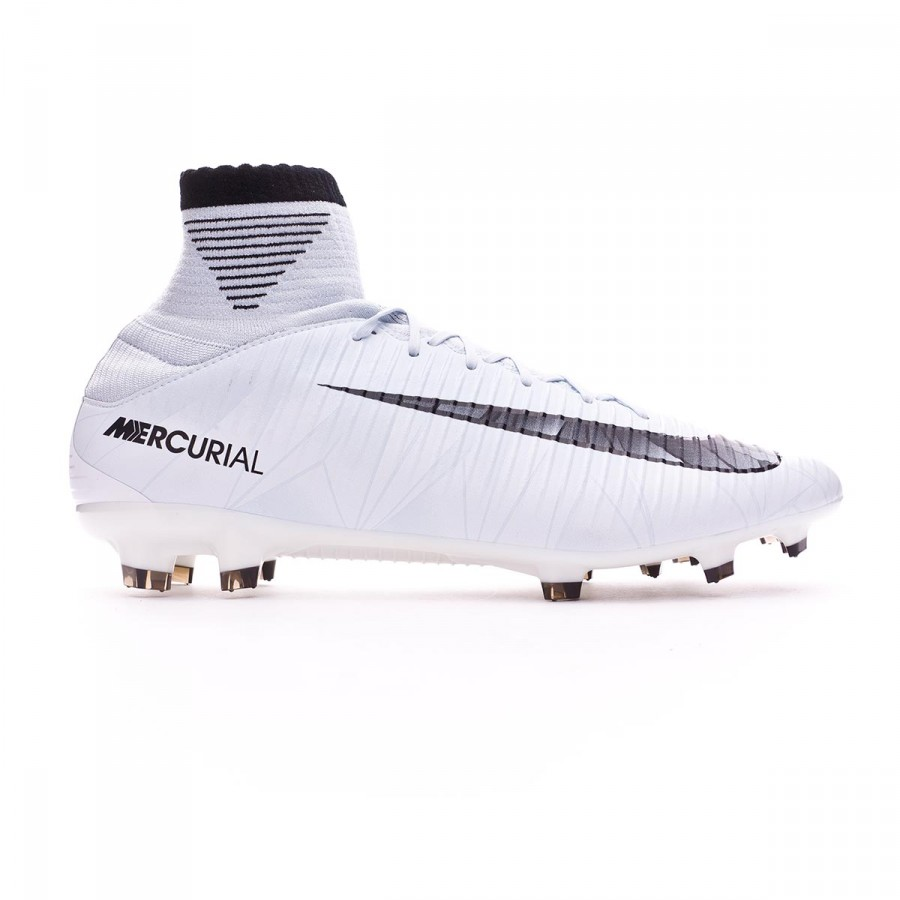 save off 99d48 63026 Football Boots Nike Mercurial Veloce III DF CR7 FG Blue tint-Black-White -  Football store Fútbol Emotion