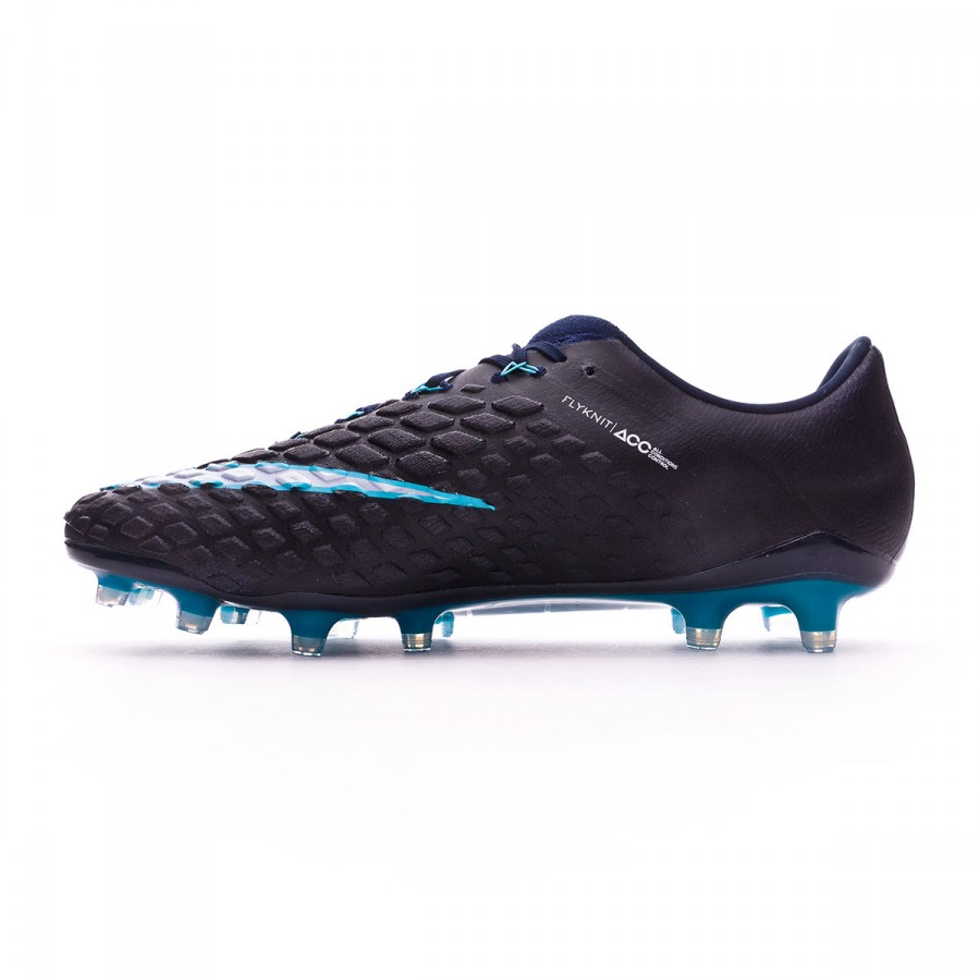 1e645c3dec7d Chaussure de foot Nike Hypervenom Phantom III ACC FG Glacier blue-Gamma  blue-Obsidian-White - Boutique de football Fútbol Emotion