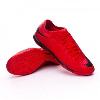 Chaussure de futsal Nike HypervenomX Finale II IC University red,Bright  crimson,Black