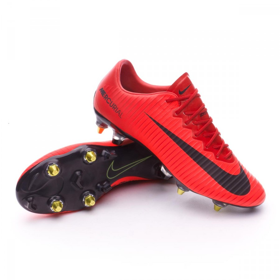 Boot Nike Mercurial Vapor XI Anti-Clog ACC SG-Pro University red ... 81016501f