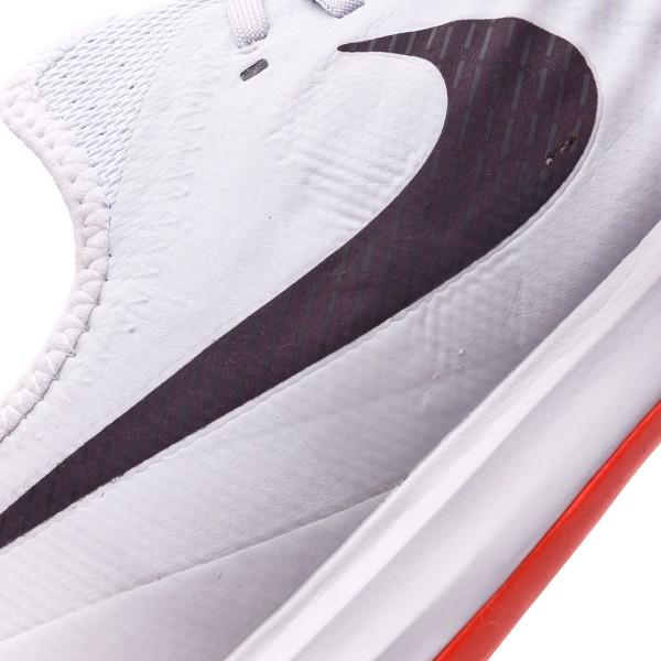 Sapatilha de Futsal Nike MagistaX Finale II Special Edition IC Pure platinum Black Bright crimson