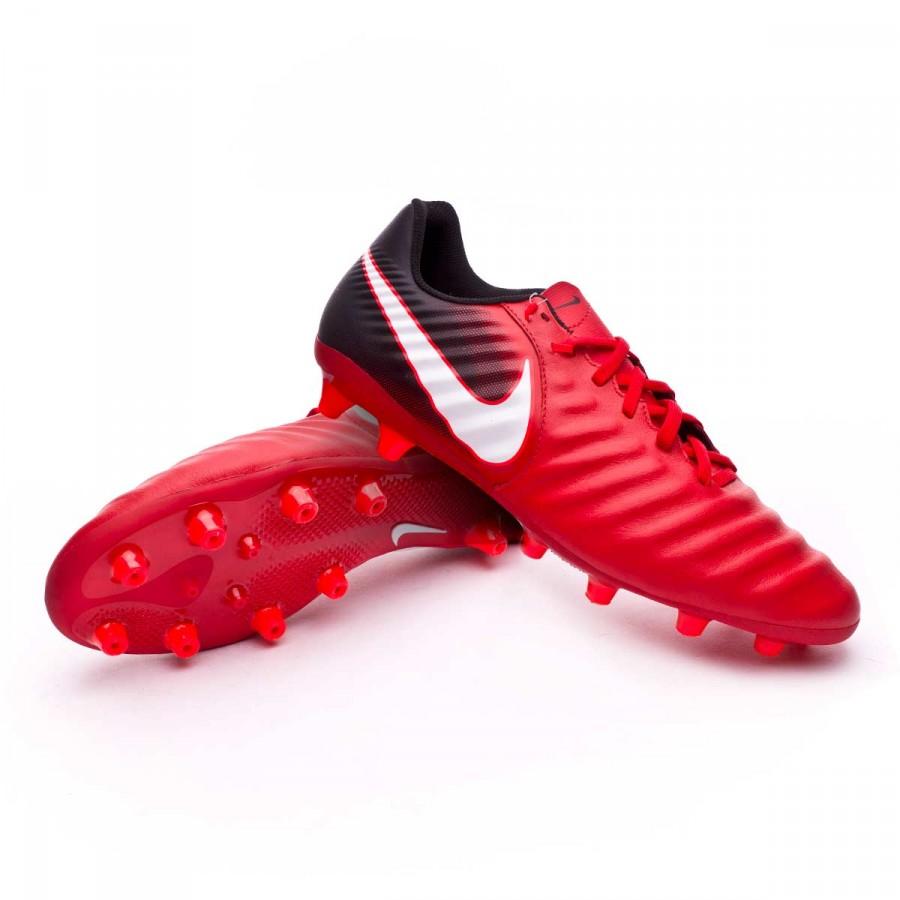 958ebf2277203 Bota de fútbol Nike Tiempo Ligera IV AG-Pro Black-White-University red -  Tienda de fútbol Fútbol Emotion