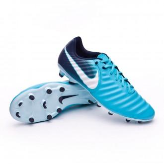 Chuteira  Nike Tiempo Ligera IV FG Glacier blue-Gamma blue-Obsidian-White