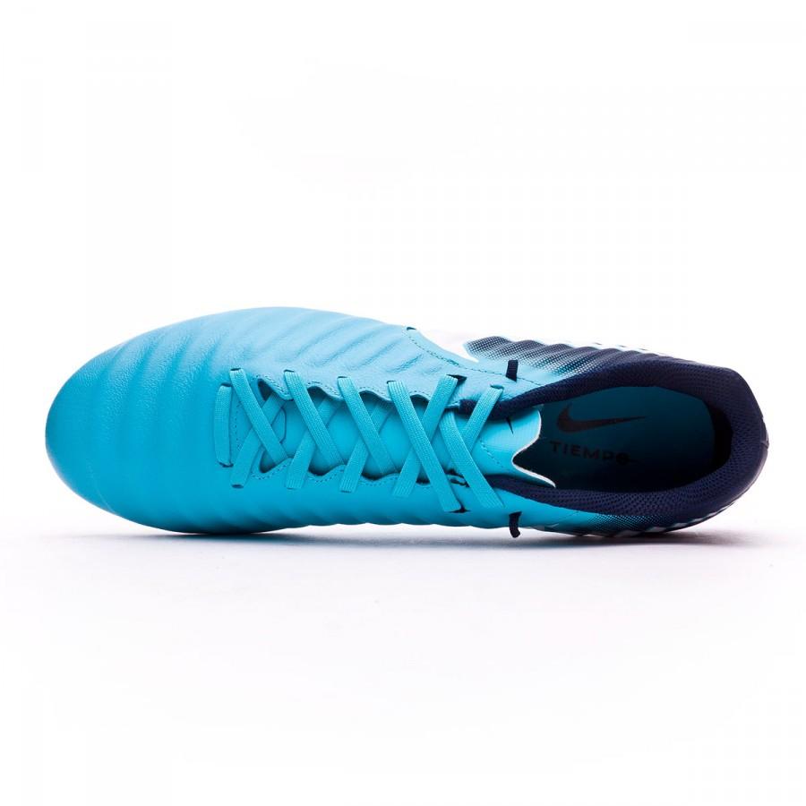 5e2e1d8bf199 Football Boots Nike Tiempo Ligera IV FG Glacier blue-Gamma blue-Obsidian- White - Tienda de fútbol Fútbol Emotion