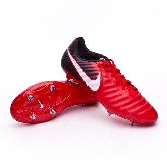 Chaussure  Nike Tiempo Ligera IV SG Black-White-University red