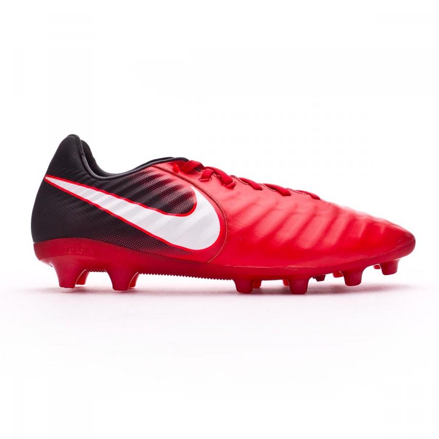 8feba4ba61908 Chuteira Nike Tiempo Legacy III AG-Pro Black-White-University red - Loja de  futebol Fútbol Emotion