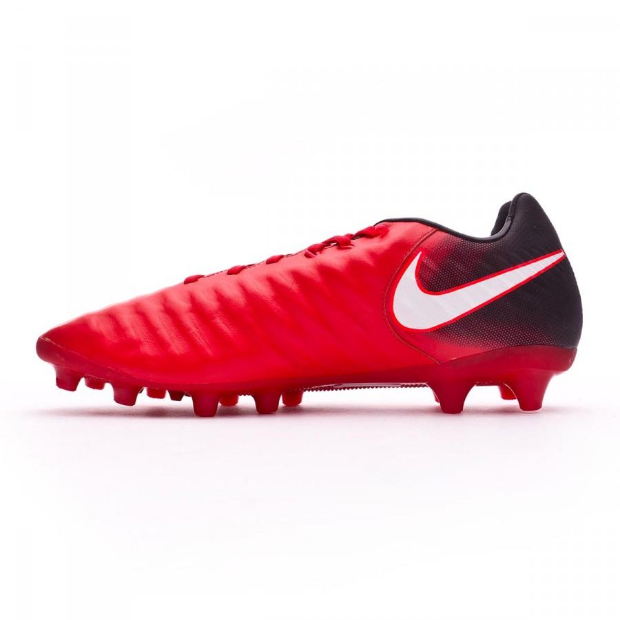 interfaz cómo Flexible  Football Boots Nike Tiempo Legacy III AG-Pro Black-White-University red -  Football store Fútbol Emotion