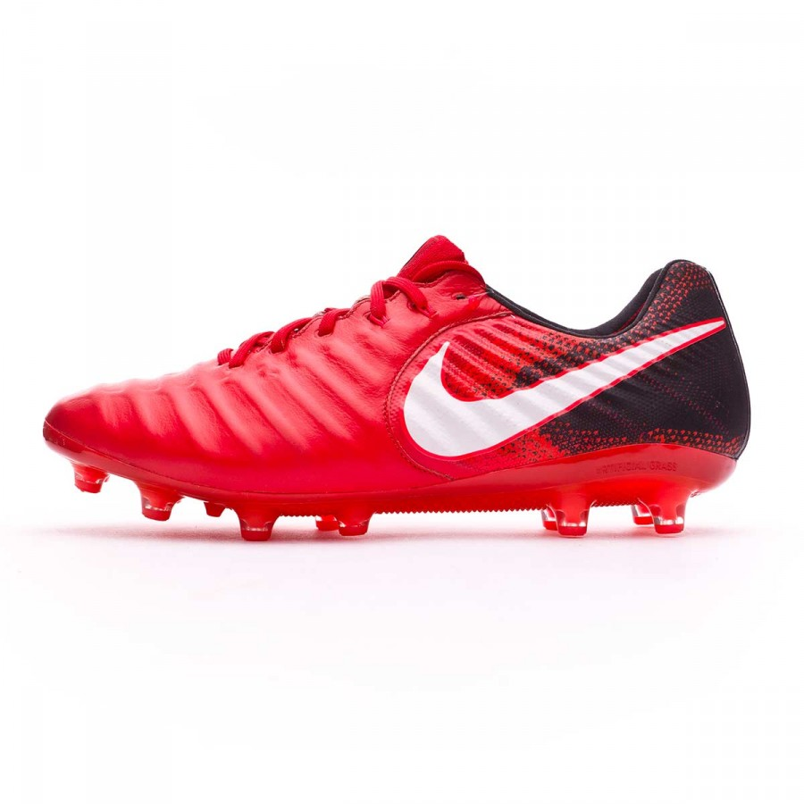 00509f1ff8e Boot Nike Tiempo Legend VII ACC AG-Pro Black-White-University red - Tienda  de fútbol Fútbol Emotion