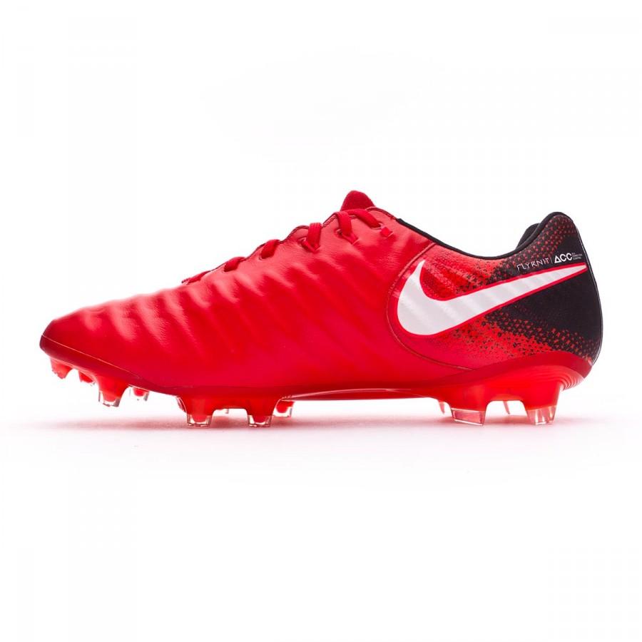 9c4e1acb98b5 Football Boots Nike Tiempo Legend VII ACC FG Black-White-University red -  Football store Fútbol Emotion