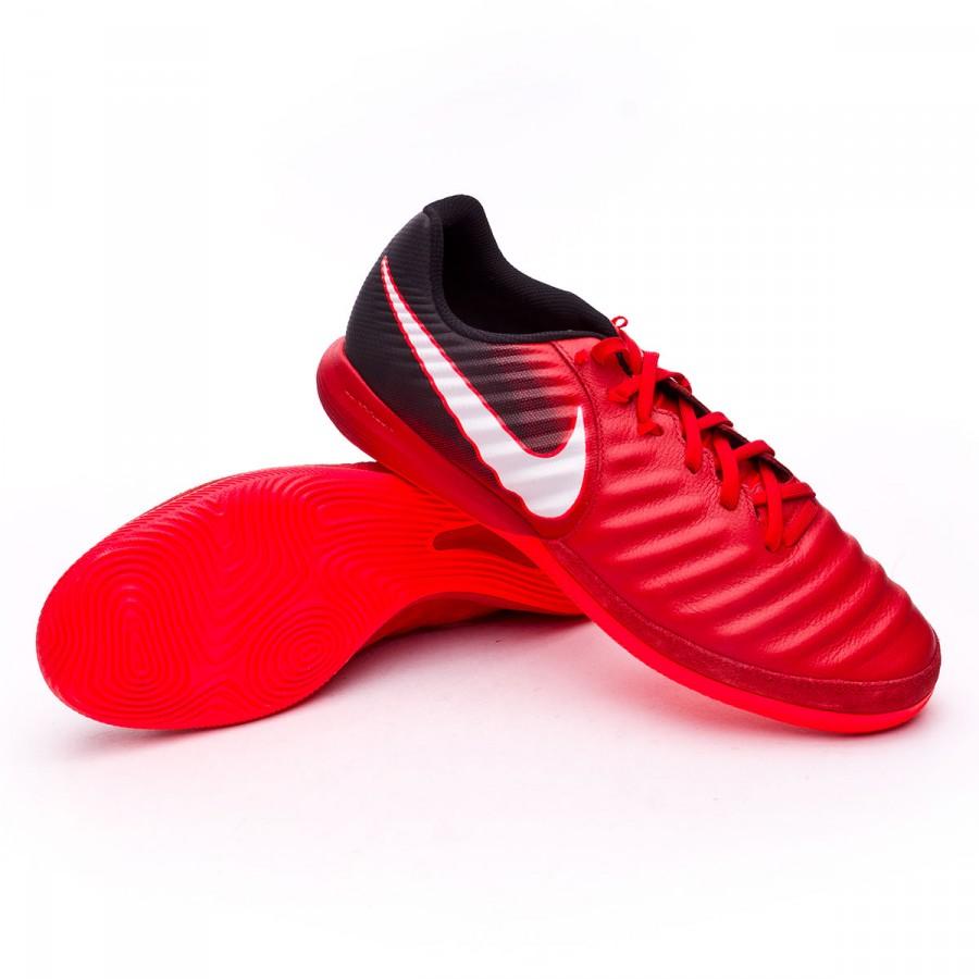 32bc119f4181 Nike TiempoX Finale IC Futsal Boot. Black-White-University red ...