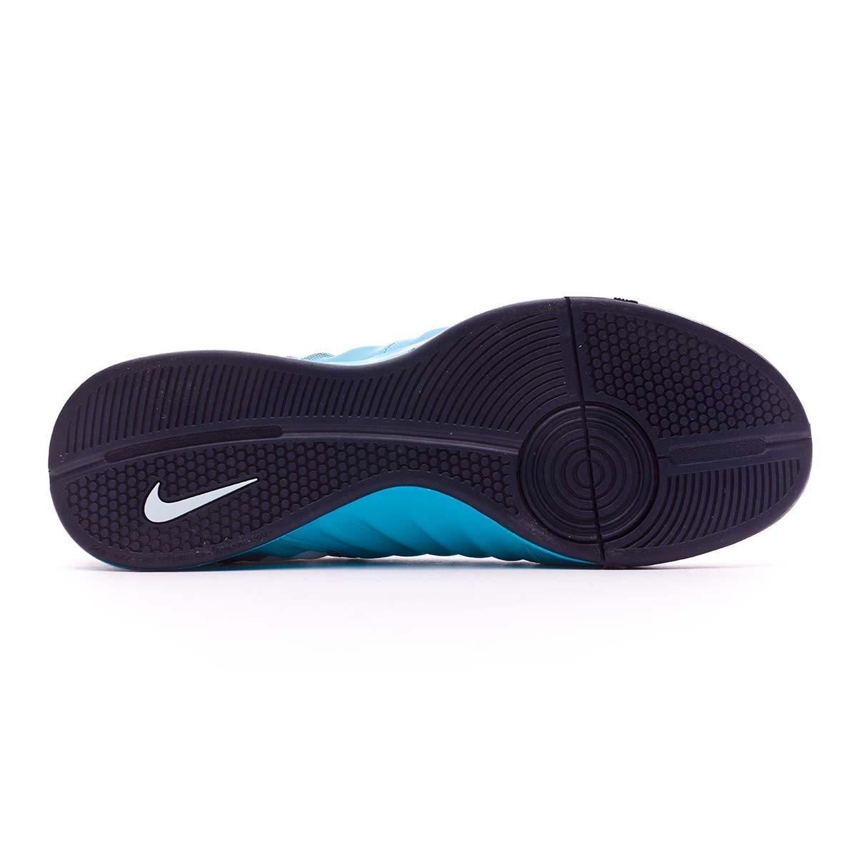f8aee50c0ea5 Futsal Boot Nike TiempoX Ligera IV IC Glacier blue-Gamma blue-Obsidian-White  - Tienda de fútbol Fútbol Emotion