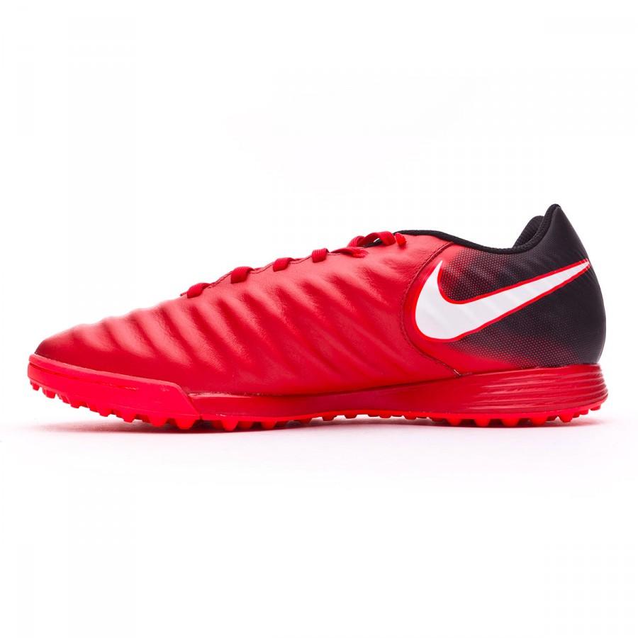 low priced b43d3 bbbd3 Zapatilla Nike TiempoX Ligera IV Turf Black-White-University red -  Soloporteros es ahora Fútbol Emotion
