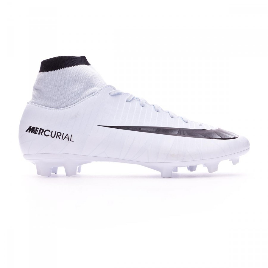 pretty nice ee3e7 d5aae Football Boots Nike Mercurial Victory VI CR7 DF FG Blue tint-Black-White -  Football store Fútbol Emotion