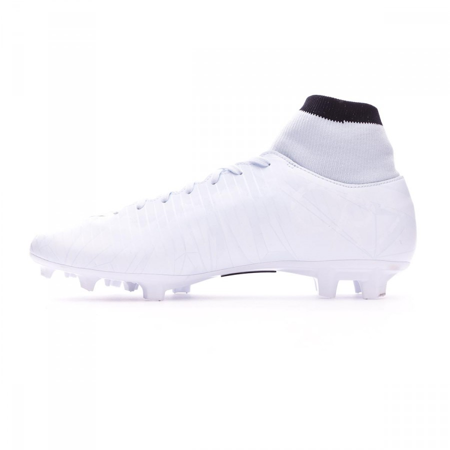 pretty nice 5e55f fd949 Football Boots Nike Mercurial Victory VI CR7 DF FG Blue tint-Black-White -  Football store Fútbol Emotion