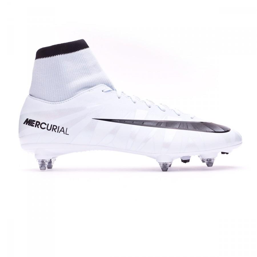 Chuteira Nike Mercurial Victory VI CR7 DF SG Blue tint-Black-White - Loja  de futebol Fútbol Emotion 9d8e3ae35e757