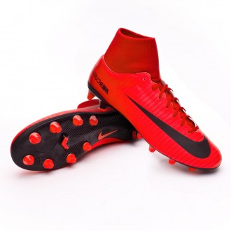 Chuteira  Nike Mercurial Victory VI DF AG-Pro University red-Bright crimson-Black