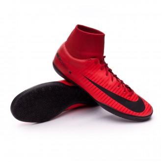 Sapatilha de Futsal  Nike MercurialX Victory VI DF IC University red-Bright crimson-Black