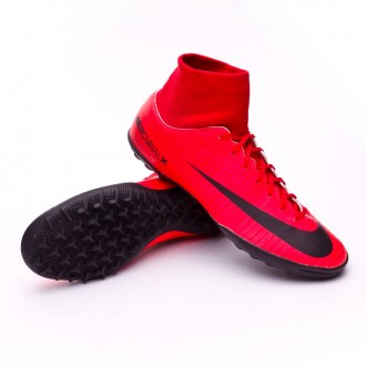 Sapatilha  Nike MercurialX Victory VI DF Turf University red-Bright crimson-Black