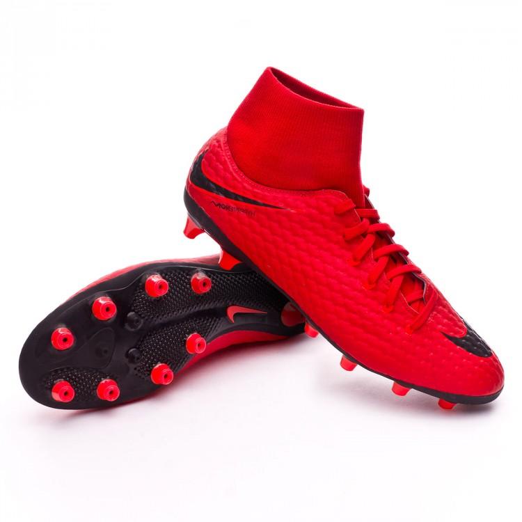 Zapatos de fútbol Nike Hypervenom Phelon III DF AG-Pro University ... bca5940cc3671
