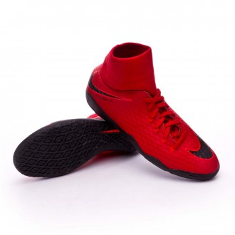 Zapatilla  Nike HypervenomX Phelon III DF IC University red-Bright crimson-Black