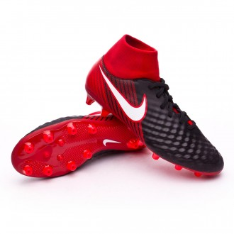 Zapatos de fútbol  Nike Magista Onda II DF AG-Pro Black-White-University red