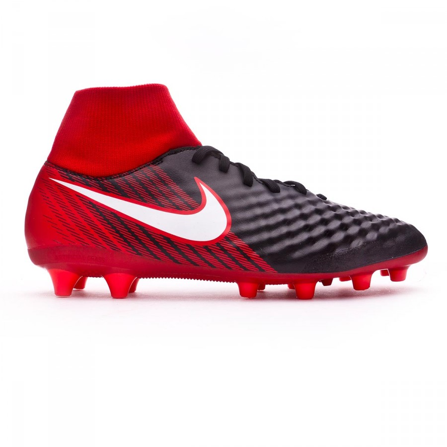 7b7a5f4a875ae Football Boots Nike Magista Onda II DF AG-Pro Black-White-University red -  Tienda de fútbol Fútbol Emotion