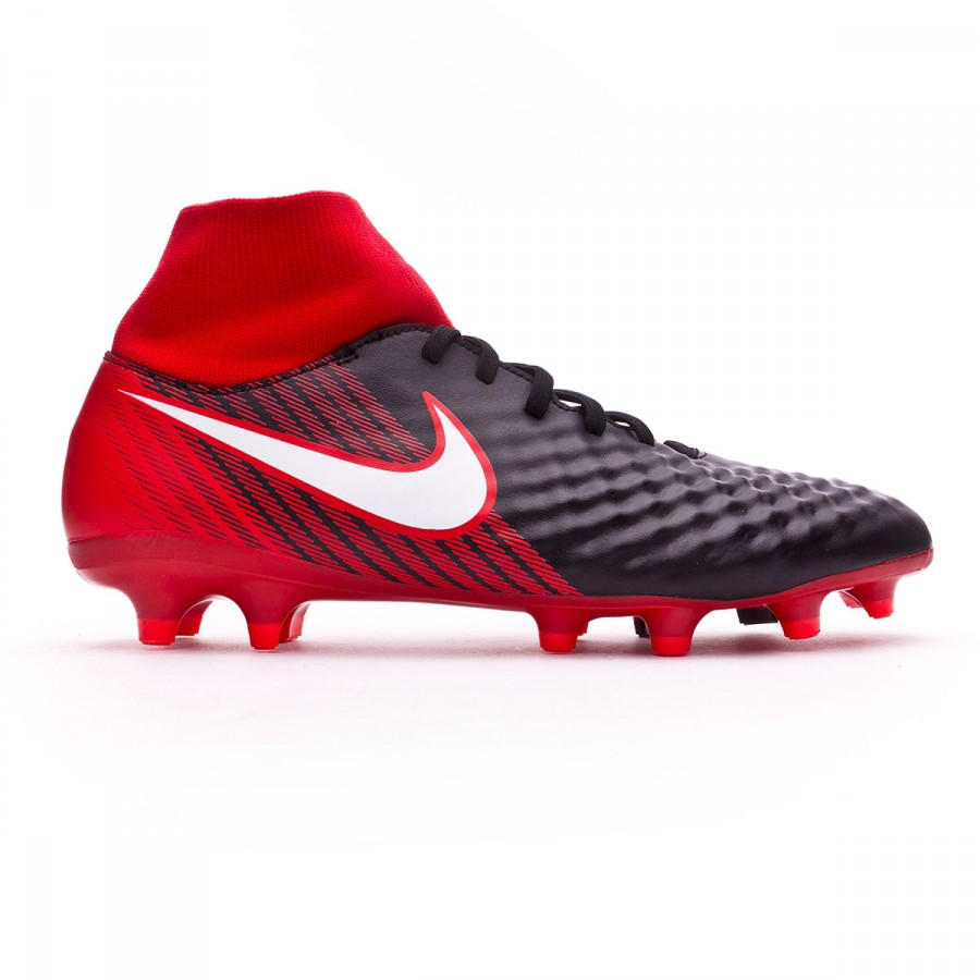 designer fashion 5cf96 f8402 Boot Nike Magista Onda II DF FG Black-White-University red - Football store  Fútbol Emotion
