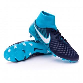 Chaussure  Nike Magista Onda II DF FG Glacier blue-Gamma blue-Obsidian-White