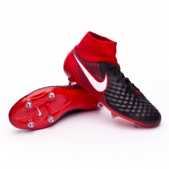 Scarpa  Nike Magista Onda II DF SG Black-White-University red