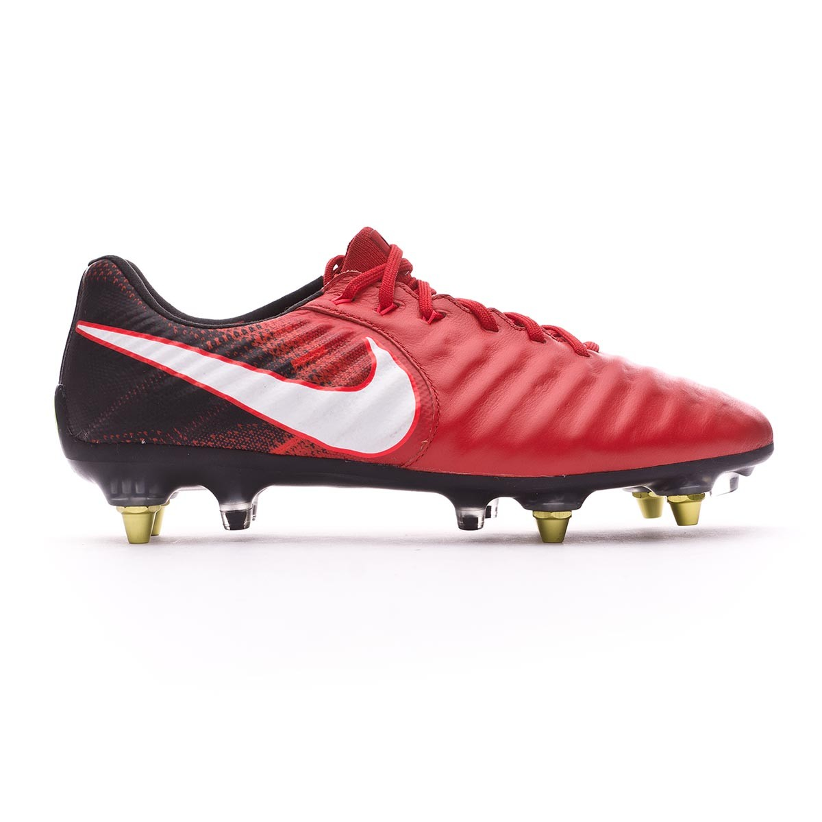 5aaa9c0dcc8f1 Zapatos de fútbol Nike Tiempo Legend VII Anti-Clog ACC SG-Pro  Black-White-University red - Tienda de fútbol Fútbol Emotion