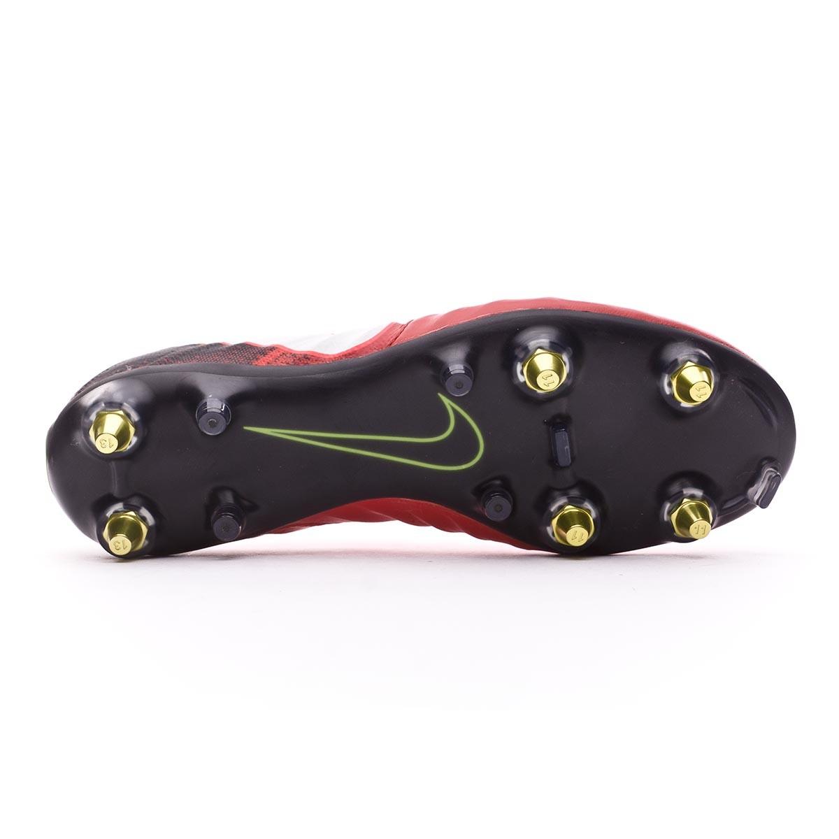 030972f3e3d9 Football Boots Nike Tiempo Legend VII Anti-Clog ACC SG-Pro Black-White- University red - Tienda de fútbol Fútbol Emotion