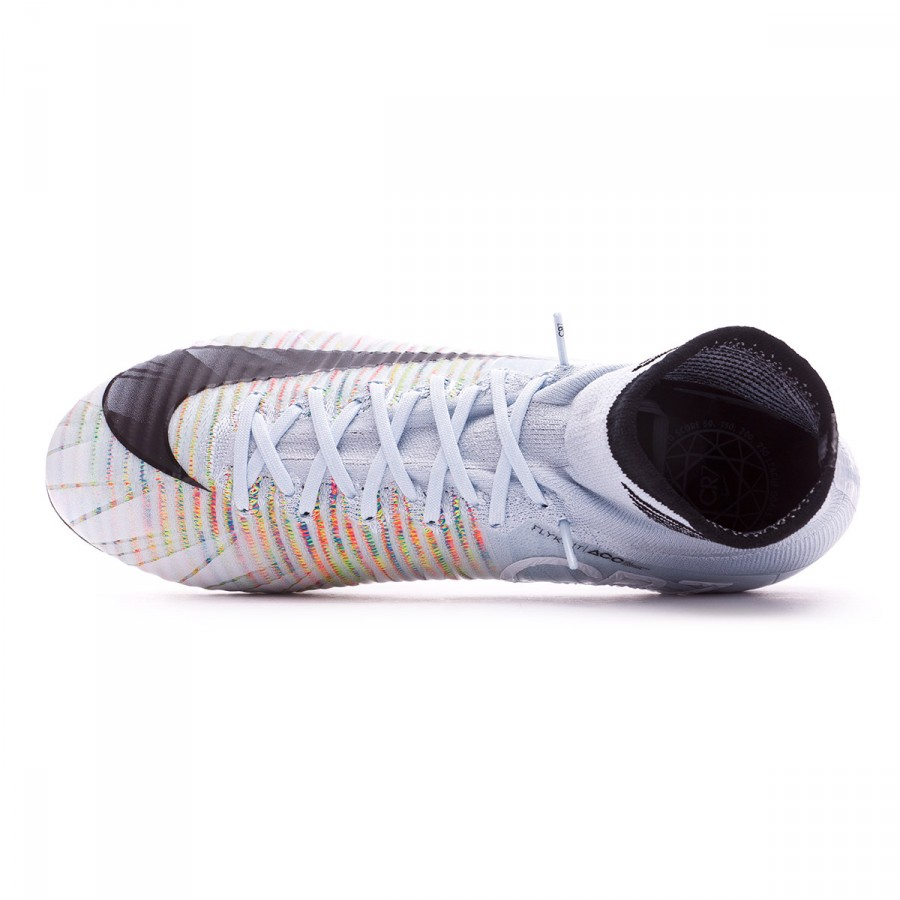 9658a78bdf2e Football Boots Nike Mercurial Superfly V CR7 ACC SG-Pro Blue  tint-Black-White-Volt - Football store Fútbol Emotion