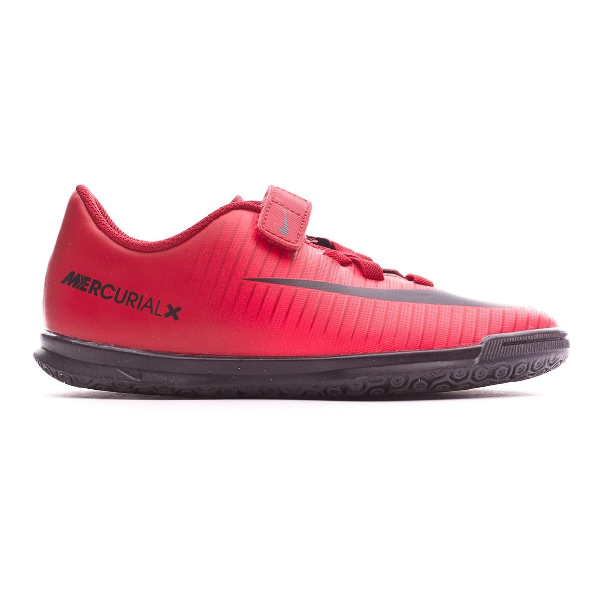 Reunir Te mejorarás Londres  Futsal Boot Nike MercurialX Vortex III IC Velcro Kids University red-Bright  crimson-Black - Tienda de fútbol Fútbol Emotion