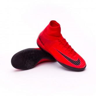 Zapatilla  Nike MercurialX Proximo II IC Niño University red-Bright crimson-Black