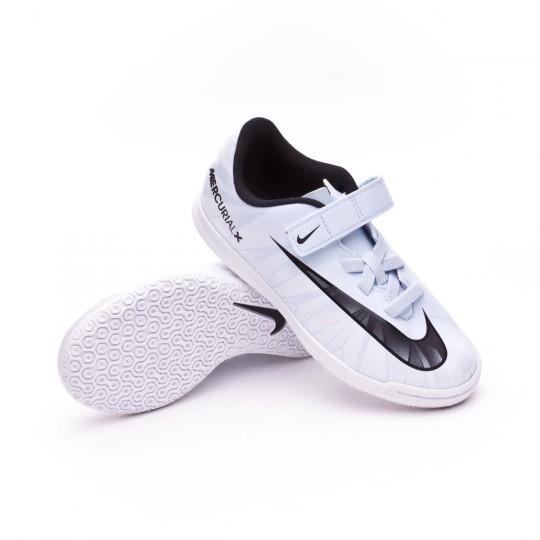 Chaussure de futsal  Nike Jr Mercurial Vortex III IC Blue tint-Black-White