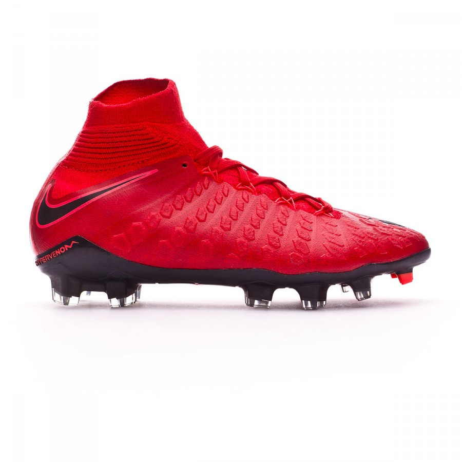 8d30877a5 Football Boots Nike Kids Hypervenom Phantom III DF FG University red-Bright  crimson-Black - Tienda de fútbol Fútbol Emotion