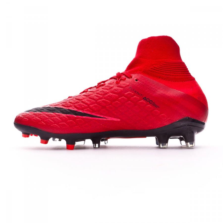 a5ab34aeb Football Boots Nike Kids Hypervenom Phantom III DF FG University red-Bright  crimson-Black - Football store Fútbol Emotion
