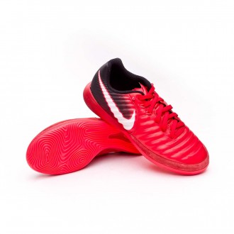 Futsal Boot  Nike Kids TiempoX Proximo II IC Black-White-University red
