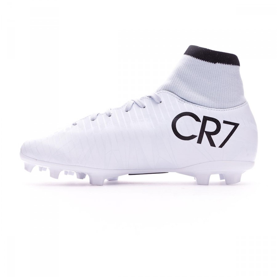 048562f10e Chaussure de foot Nike Jr Mercurial Victory VI CR7 DF FG Blue  tint-Black-White - Boutique de football Fútbol Emotion