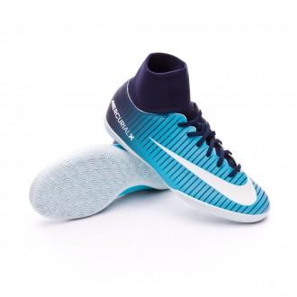 Zapatilla  Nike MercurialX Victory VI DF IC Niño Thunder blue-White-Gamma blue