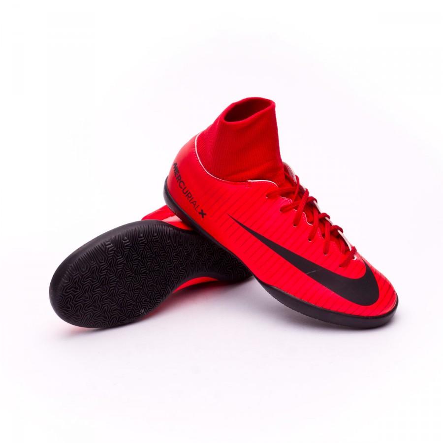 72f5a9738 Futsal Boot Nike Kids MercurialX Victory VI DF IC University red ...