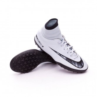 Zapatilla  Nike MercurialX Victory VI CR7 DF turf Niño Blue tint-Black-White