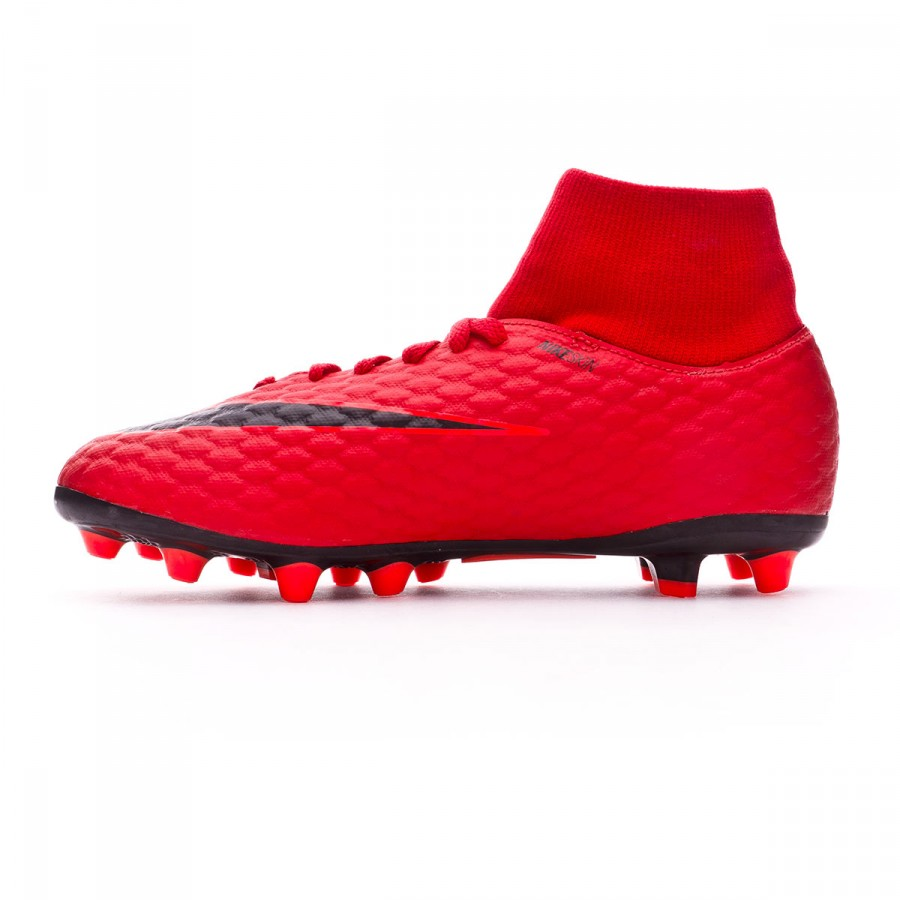 8ba887297 Football Boots Nike Kids Hypervenom Phelon III DF AG-Pro University red-Bright  crimson-Black - Tienda de fútbol Fútbol Emotion