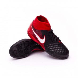 Zapatilla  Nike MagistaX Onda II DF IC Niño Black-White-University red