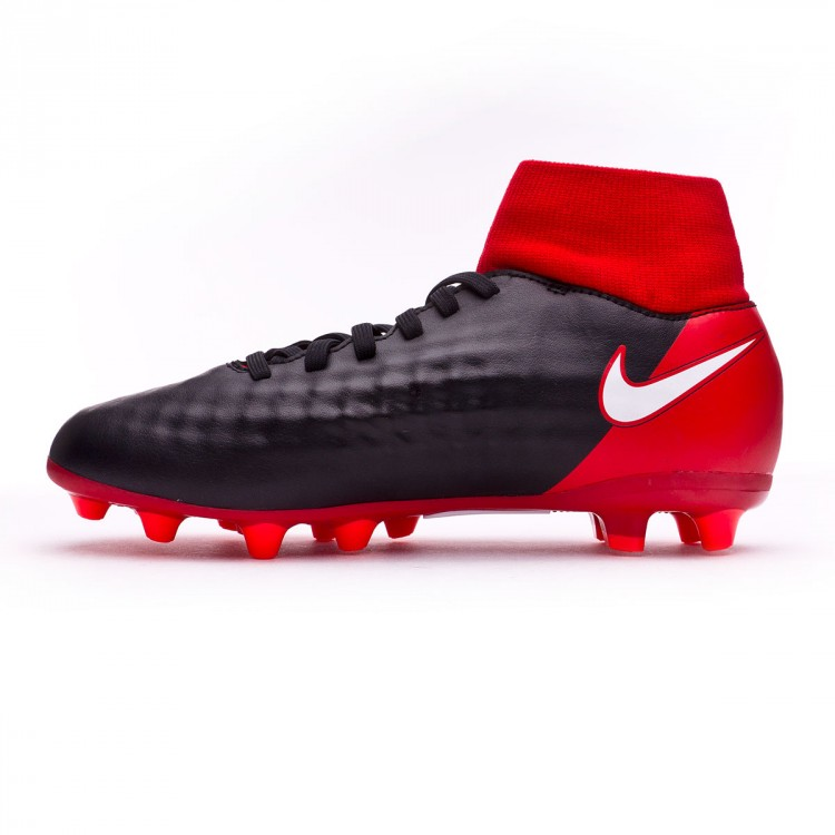 617e70d376c47 Football Boots Nike Kids Magista Onda II DF AG-Pro Black-White ...