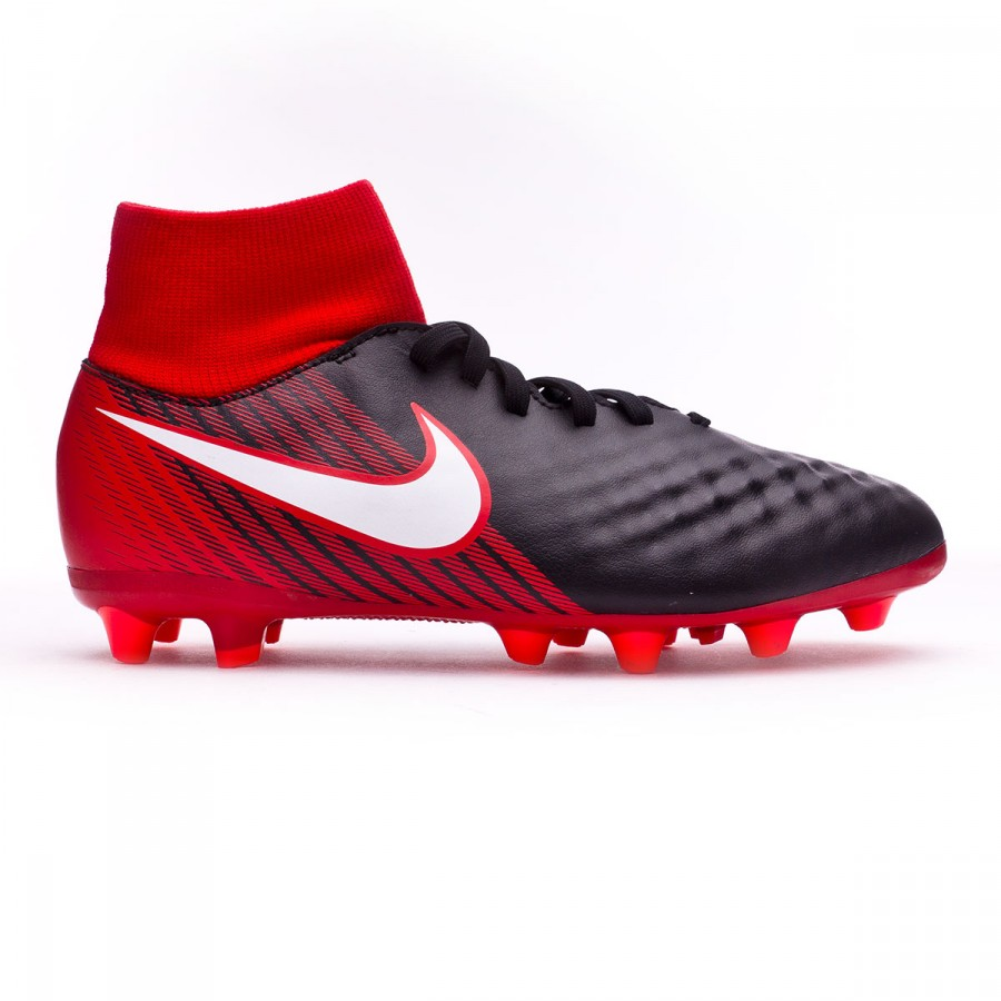 1be3bcaa669 Bota de fútbol Nike Magista Onda II DF AG-Pro Niño Black-White-University  red - Tienda de fútbol Fútbol Emotion
