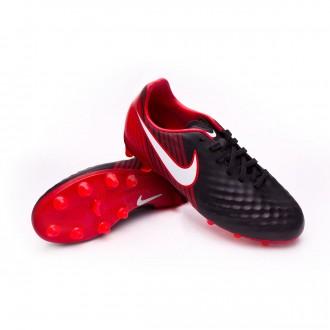 Zapatos de fútbol  Nike Magista Onda II AG-Pro Niño Black-White-University red
