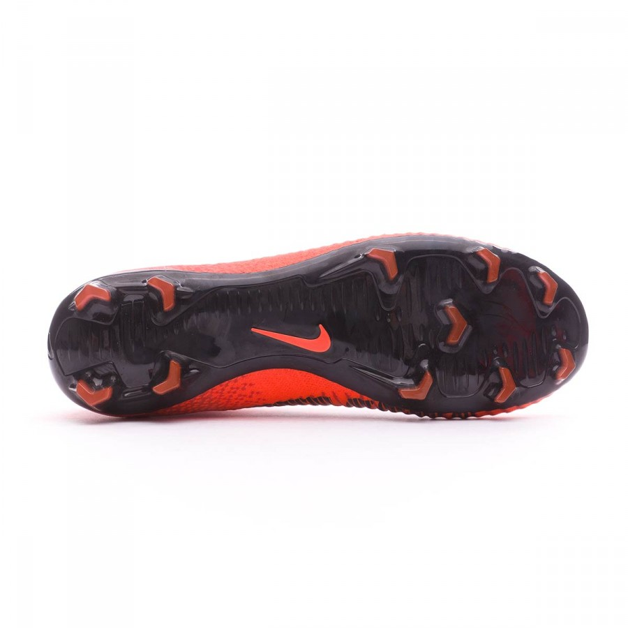 ... Bota Mercurial Superfly V DF FG Niño University red-Bright crimson-Black.  Vídeo 05dd5c9204b46